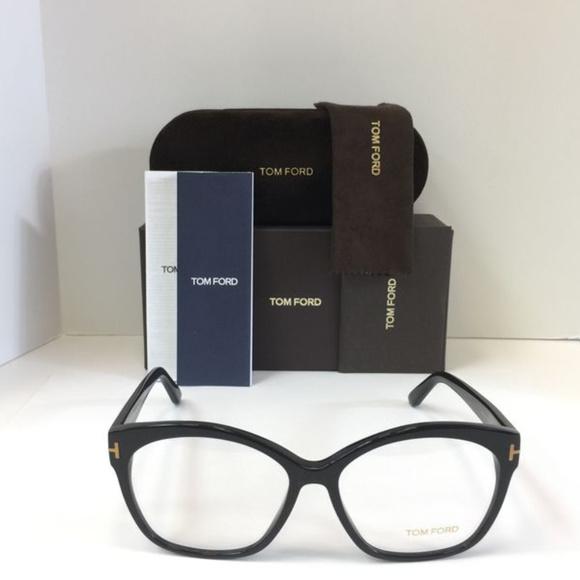 9aa57bec3f6c Tom Ford TF5435 001 black Eyeglasses 57mm